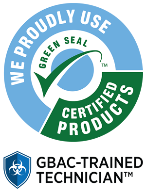 Bee Natural Cleaning uses Green Seal Certified Products and staff are GBAC Trained